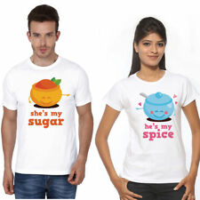 Cotton Couple T Shirt perfect pair for all hot & sexy Couples