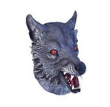 homme Halloween Loup grand Bad MASQUE HABILLAGE UP adulte accessoire NEUF Fée