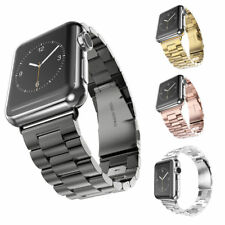 Watch Band Stainless Steel Iwatch Apple Strap Milanese Magnetic Loop Wrist Case