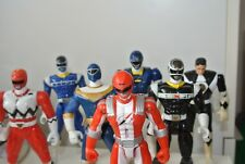 """Power Ranger Bandai Toy Mighty Morphin 5.5"""" Auto-Morphin Figures Red Black Green"""