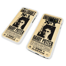 POTTER WANTED POSTER WHITE PHONE CASE COVER fits iPHONE / SAMSUNG (WH)
