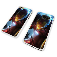 IRON MAN SUIT ARMOR WHITE PHONE CASE COVER fits iPHONE / SAMSUNG (WH)