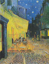 VINCENT VAN GOGH CAFE TERRACE AT NIGHT EXTRA LARGE CANVAS PRINT