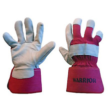 Warrior soft cowhide leather premium canadian rigger gloves 1 Pair or 12 pairs