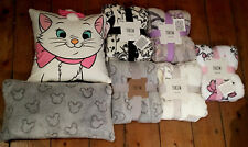 New Primark Tinkerbell,Eeyore,Mickey Mouse,Minnie Mouse or Lion Guard Throw