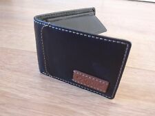 Mens Luxury Soft Quality Leather Wallet Credit Card Holder Black Brown NEW UK