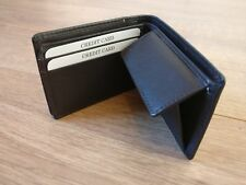 Sale Mens Luxury Soft Quality Leather Wallet Credit Card Holder Black Brown