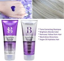 Silver Purple Blonde Violet Toning Shampoo Conditioner Same As L'oreal & Fudge