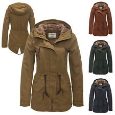 Only Damen Wintermantel Parka Winterjacke Kurzmantel Übergangs & Winter Mantel %