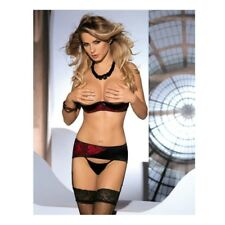 AVANUA MARGOT SET ROJO/NEGRO L/XL