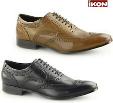 Ikon ANDERSON Mens Leather Lace Up Formal Evening Smart Dress Oxford Brogues