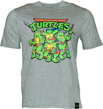 Turtles T-Shirt Mens Official TMNT Teenage Mutant Ninja Turtles 100% Cotton Top
