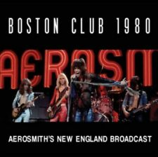 AEROSMITH - Boston CLUB 1980 NUOVO CD