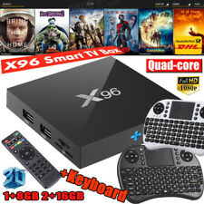 X96 Smart TV Box 4K*2K 1GB/2GB+ 8GB/16GB Android 6.0 Quad Core 3D+ Mini Tastiera