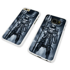 DARTH VADER ARMOR ART WHITE PHONE CASE COVER fits iPHONE / SAMSUNG (WH)