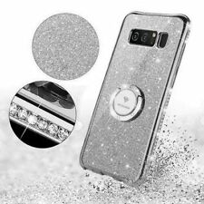 Samsung Galaxy Note 8 Case Cute Bling Diamond Protective Sparkly Cover Silver
