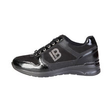 LAURA BIAGIOTTI Zapatillas casual sneakers mujer color negro 2048 Negro ORIGINAL