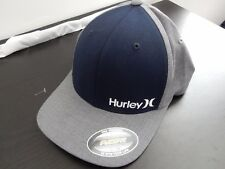 HURLEY BLUE AND GREY BASEBALL FITTED CAP S/M  BNWT SURF SKATE