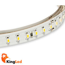 KingLed Tiras DEL 24V 600SMD3014 60W 10mm 6000Lm Tira 3014 12W/M 5M Raw IP20