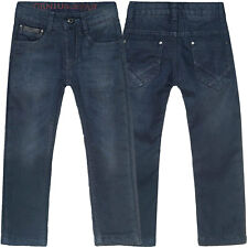 Jungen Kinder Winter Jeanshose Thermohose Thermojeans Stretch Jeans Hose 21566