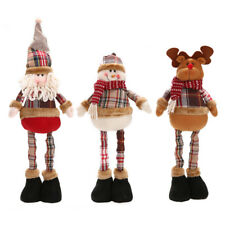 Christmas Hanging Dolls Santa Claus Reindeer Snowman Decoration Tree Ornaments