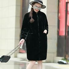 Women Warm Faux Fur Coat Jacket Winter Outwear Overcoat Parka Long Waistcoat