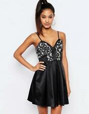 £65 Genuine LIPSY Ariana Grande Black Lace Party DRESS BNWT all sizes *SALE*