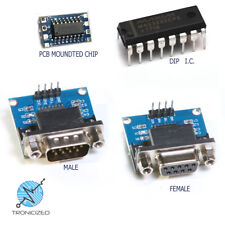 MAX3232 RS232 to TTL Serial Port Converter Module Male or Female DB9 D-Sub