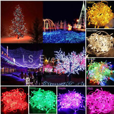 10M 20M 30M 50M 100M Led String Fairy Christmas Lights Holiday Outdoor Decor Kit