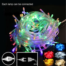 33FT Christmas Fairy Led String Lights Wedding Party Home Decor Holiday Garland