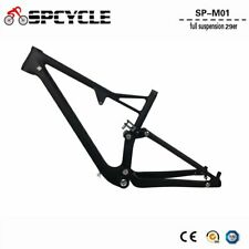 29er Full Suspension Frame Carbon MTB Mountain Bike Frames 142*12 Bicycle frame