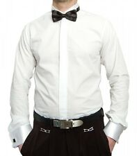 MATRIMONIO CAMICIA PER SMOKING Uomo bianco + PAPILLON COLLETTO