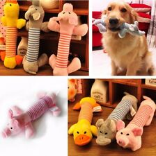 Soft dog Pet Puppy Chew Play Squeaker Squeaky Cute Plush Sound For Dog Toys!!
