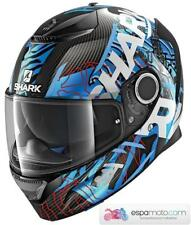 Casco SHARK Spartan Carbon DAKSHA Carbon / Blue / White