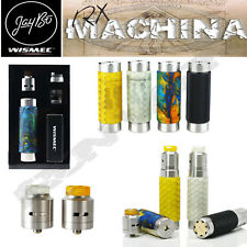 Authentic RX MACHINA MOD   FULL KIT w 24mm GUILLOTINE RDA   20700 or 18650 Mech