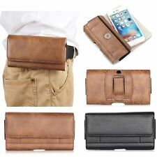 LEATHER WAIST BELT HOLSTER POUCH BAG CASE FOR MEIZU M3 M5 NOTE PRO 7 6 5 MX6 MX5