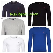 Ralph Lauren Long Sleeve Crew Neck Polo T-Shirt