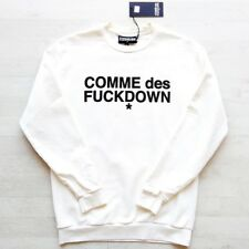 Fleece COMME des FUCKDOWN Off White CFDU001