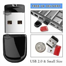 64/256GB 1TB Mini Flash Drive USB 2.0 Memory Stick Pen Drive Backup Drive For PC
