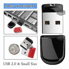 Mini Flash Drive USB 2.0 32/64/512GB Memory Stick Pen Drive Backup Drive For PC
