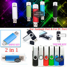 128 256 512GB OTG USB 2.0 i Flash Key Drive Thumb Memory Stick Pen Storage Disk