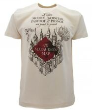 T-shirt maglia originale con etichetta HARRY POTTER The Marauder's Map