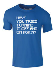 Brand88 - Have You Tried..., Adults Printed T-Shirt