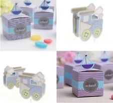 Baby Shower Favour Boxes Box Boy New Baby On Board Boat Train