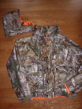 """BUSHMASTER"" MENS REALTREE  WATER RESISTANT REVERSIBLE CAMO HUNTING JACKET NWT"