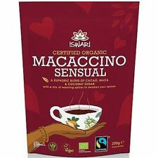 Iswari Macaccino Sensual Hot Chocolate Drink 250g