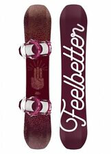 Bataleon Feelbetter 2018 Womens Snowboard Set 146cm with Switchback Bindings