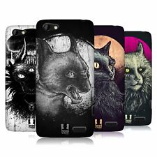 HEAD CASE DESIGNS CATS OF GOTH HARD BACK CASE FOR HTC PHONES 3