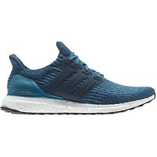 Adidas UltraBOOST Men's Road Running Shoes - Petrol Night/Mystery Petrol (Blue)