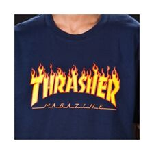 CAMISETA THRASHER FLAME BLUE